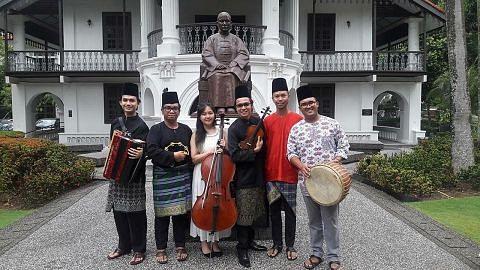 Orkestra Sri Temasek gigih perkaya warisan Melayu