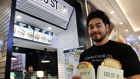 Kedai roti bakar ilham dari Korea