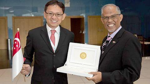 Firma S'pura Ecosoftt raih anugerah mampan di Abu Dhabi