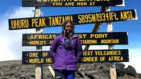 Baru 11 tahun sudah 'kuasai' lima gunung termasuk Kilimanjaro