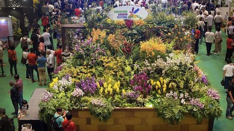 Pesta Taman SG kembali dengan pertunjukan hortikultur
