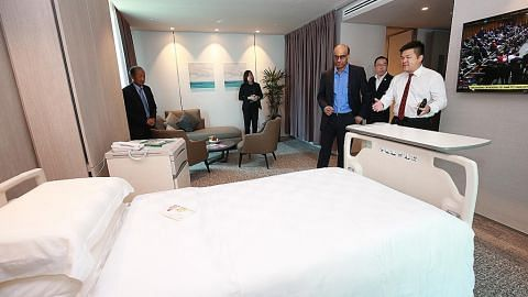 Hospital Raffles tambah lebih banyak katil dengan pembukaan pusat pakar baru