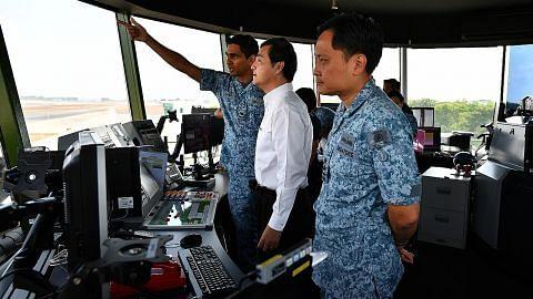 Latihan udara pastikan keselamatan Lapangan Terbang Changi