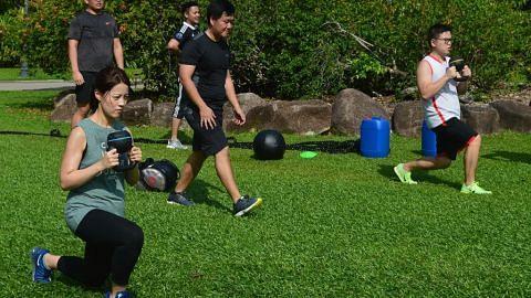 Khidmat sukarela kendali 'bootcamp' percuma di Kebun Bunga