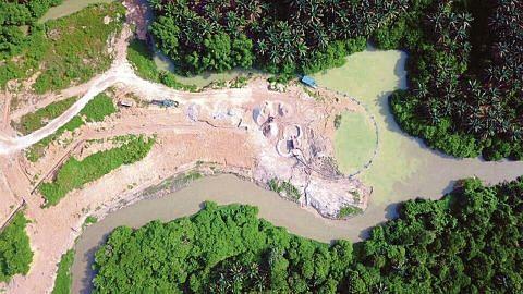 Bekalan air Johor terjejas akibat pencemaran ammonia
