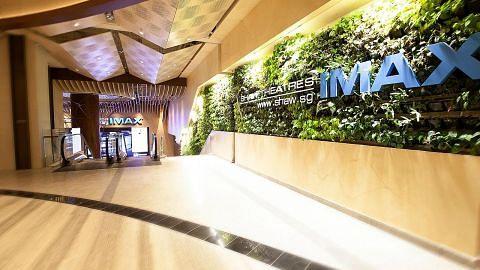 Pawagam Jewel Changi Airport mesra kanak-kanak
