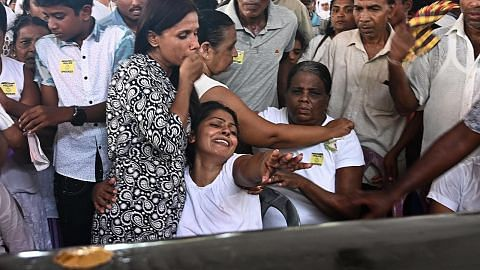 Rakyat Sri Lanka bertafakur peringati mangsa serangan