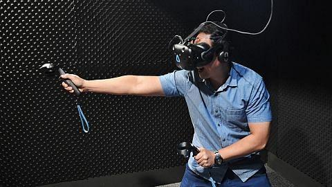 Permainan realiti maya ajak ke dunia fantasi