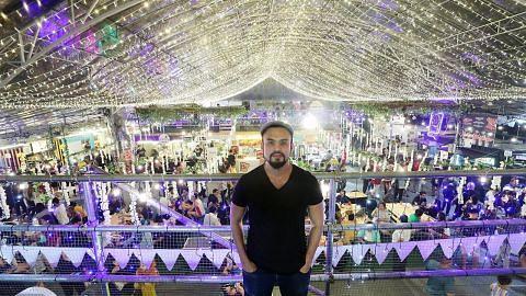 Konsep baru 'buka selera' pengunjung ke Geylang Serai