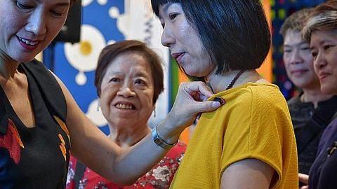 Isteri dan ibu anggota NS diberi keahlian keluarga HomeTeamNS dua tahun secara percuma