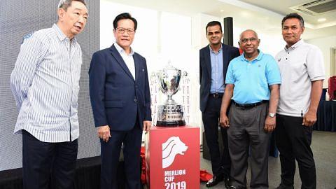 Empat pasukan bawah 22 tahun muncul dalam Piala Merlion