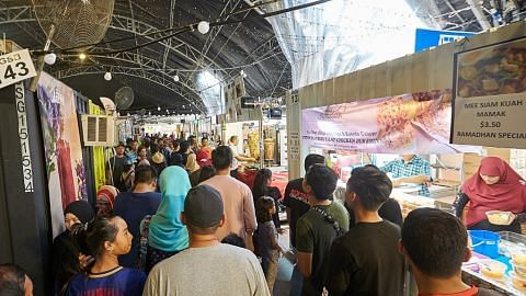 Persediaan menyeluruh pastikan bazar Geylang Serai jalan lancar, penuhi cita rasa