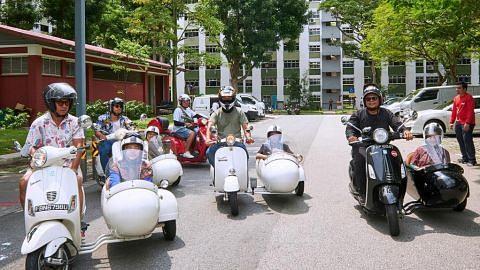 Ceriakan keluarga dengan habuan Raya, motosikal Vespa