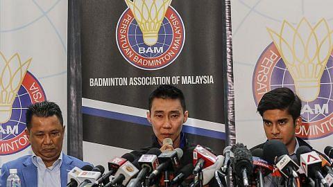 BADMINTON Lee Chong Wei bersara