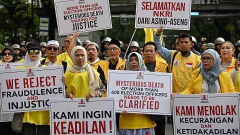 Mahkamah mula sidang kes cabar keputusan pilihan raya Indonesia