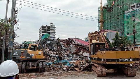 Bangunan runtuh: Vivian utus takziah kepada Kemboja