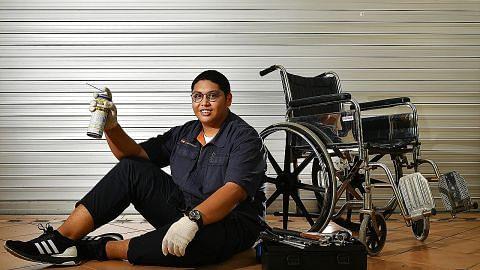 Kerusi roda jadi 'mainan' pelajar ITE