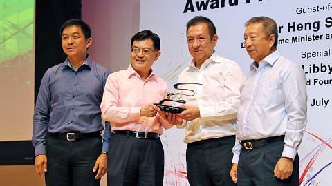 Peter Lim ikrar $20j bantu kanak-kanak kurang kemampuan capai potensi