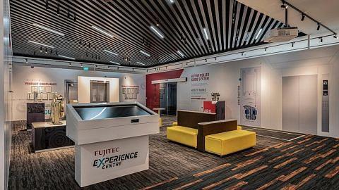 Pusat Pengalaman Fujitec papar teknologi lif, tangga bergerak terkini