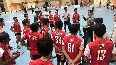 FLOORBALL: PIALA KONFEDERASI ASIA-OCEANIA 2019 Apa kata jurulatih Apa kata kapten pasukan Cabaran pertama jurulatih baru skuad negara
