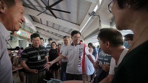 Pasar Bulat Tampines dibuka semula