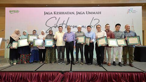 180 wakil masjid, badan lakar program tingkat kesihatan