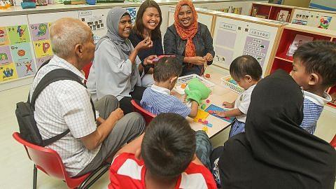 Menyokong pendidikan awal kanak-kanak