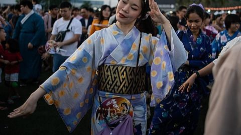 Pesta budaya, makanan Jepun akan dibawa ke Hab Sukan S'pura