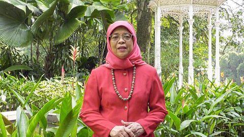 Presiden Halimah: Rakyat perlu sedia, satu padu hadapi cabaran