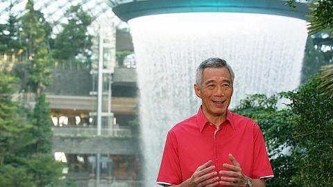 Yakini kemampuan S'pura atasi cabaran: Amanat Hari Kebangsaan PM Lee