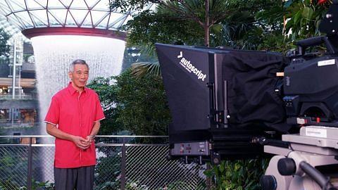 PM Lee ajak rakyat bersatu untuk maju walau keadaan dunia tidak menentu AMANAT HARI KEBANGSAAN UCAPAN MENTERI