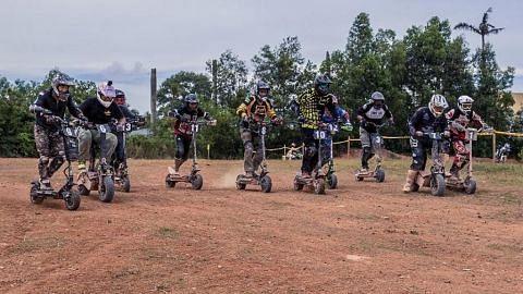 Pengasas kelab e-skuter perjelas kedudukan