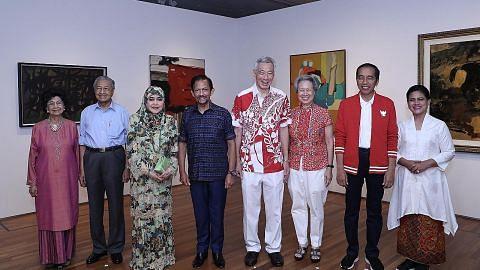 Pemimpin turun Padang