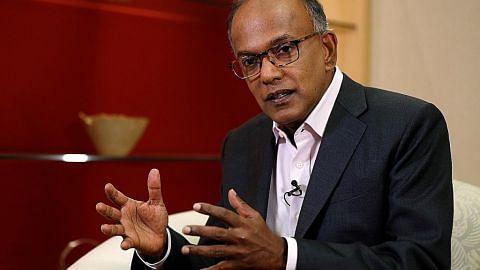 Ketidakstabilan di HK masalah untuk semua, termasuk S'pura: Shanmugam