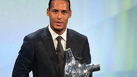 Van Dijk pemain terbaik Uefa