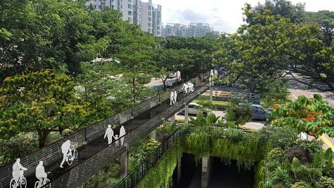 Koridor hijau akan hubungkan tiga taman negara