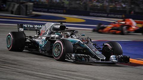 Pesta F1 diperluas ke Orchard Rd dan Kg Glam