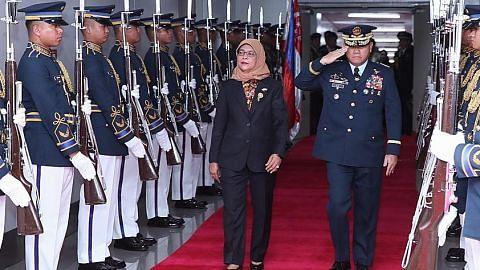 Presiden Halimah mula lawatan rasmi ke Filipina