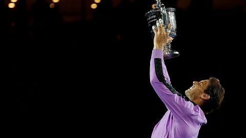 TENIS TERBUKA AS Nadal juara Grand Slam ke-19