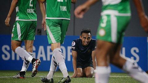 Kecemerlangan Hougang United belum cukup untuk rangkul piala