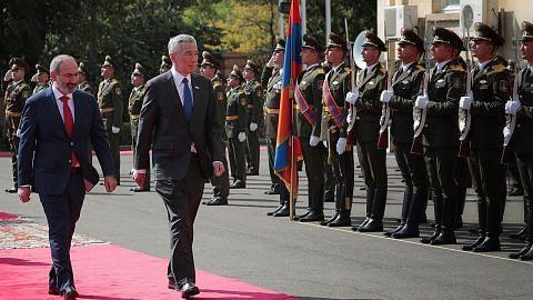 S'pura, Armenia jalin kerjasama