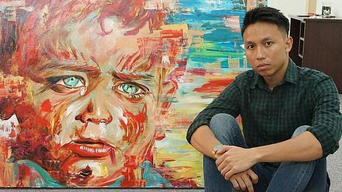 Kerja syif bukan penghalang buat seniman muda hasil karya