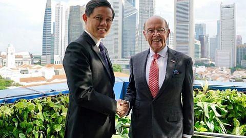 Amerika, S'pura rakan ekonomi utama; hubungan dua hala rapat: Chun Sing