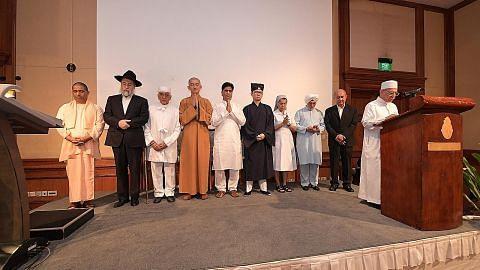 Buka pintu masjid untuk semua demi keharmonian agama di S'pura