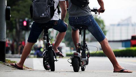 Lebih 300 diberi amaran guna PMD, basikal di kolong blok HDB
