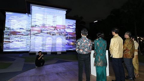 Singkap dunia Melayu, sejarah S'pura di pesta tiga minggu