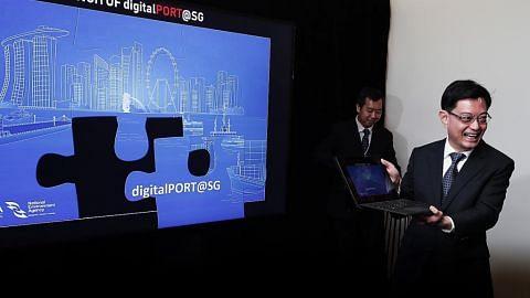 Wadah digital MPA sedia pemeriksaan sehenti bagi perkapalan