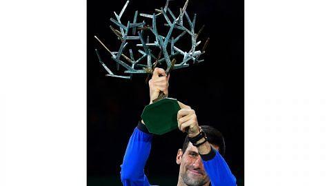Mudah... Djokovic juara kali kelima TENIS PARIS MASTERS