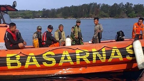 Operasi cari penyelam S'pura di perairan Sangiang diteruskan