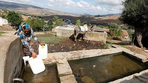 Masalah bekalan air belenggu penduduk Tunisia